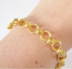 Easy Jump Ring Bracelet