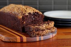 MADE: Chocolate banana bread. Was too chocolatey but might try again