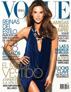 Vogue Mexico December 2010 - Alessandra Ambrosio