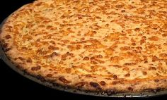 Low carb pizza crust. I've made it. It works for what it is. Make it thin! Don't get grossed out. You can't taste the pork rinds...otherwise I would never eat it!