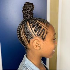 Hi ladies. Are you looking for the best hair braiding styles that will make you beautiful and classy in any gathering. You are at the right place to make a choice of hairstyle that will look appealing to you. Box Braids Hairstyles, Toddler Braided Hairstyles, Lil Girl Hairstyles, My Hairstyle, Cool Hairstyles, Braids For Kids, Girls Braids, Toddler Braids, Braid Styles For Girls