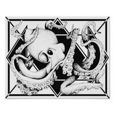 ZNDC Studio's Main Octopus Poster
