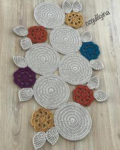 [New] The 10 Best Home Decor (with Pictures) Crochet Diagram, Easy Crochet Patterns, Crochet Motif, Crochet Doilies, Crochet Stitches, Crochet Table Mat, Knit Rug, Homemade Home Decor, Crochet Flowers