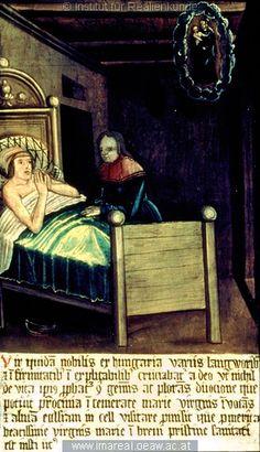 Heilung von Krankheit   Dieses Bild: 000501   Großer Mariazeller Wunderaltar   1518- 1522 ; Graz ; Österreich