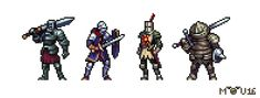 "A question which I asked myself for a long time: ""What would Dark Souls look like, if it'd have been released on GBA?"" GBA was the system which inspired me to start creating pixel art &..."