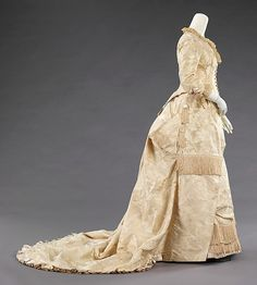 Evening dress ca. 1880