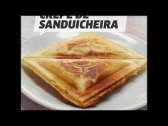 Crepe na sanduicheira elétrica: lanche é gostoso e rápido de preparar - Vix