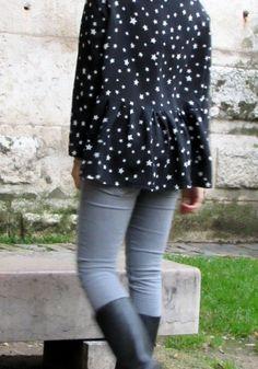 Blouse Marthe - Republique du chiffon - Soni Rykiel silk http://mydress-made.blogspot.com/2014/11/blouse-marthe-etoilee-trendy-happy.html