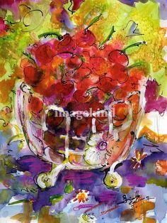 Ginette Callaway Bowl of Cherries