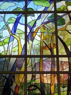 Kalamunda Library Stained Glass Window