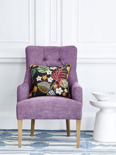 Lucas and Samba fabrics by Jane Churchill