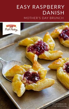 You don't need to leave your house to get coffee shop-quality baked goods! Pepperidge Farm® Puff Pastry Sheets let you enjoy fresh pastries from the comfort of your home. Check out the full recipe from Shadi, of Unicorns in the Kitchen, to see how you can make this Easy Raspberry Danish for yourself.