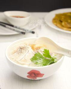 家常便饭 - 潮州鱼粥 (Teochew Fish Porridge) | Hungry Peepor