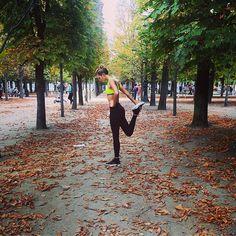 Karlie Kloss' Workout Tips from Paris Fashion Week - Shape Magazine