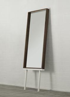 Hans Long-Legged Mirror, walnut Venice House, Walnut Furniture, Long Legs, Mirrors, Table, Home Decor, Decoration Home, Room Decor, Walnut Bedroom Furniture