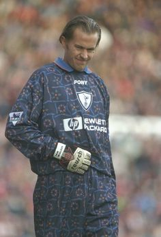 Tottenham Hotspur goalkeeper kit, 1996–97. | 37 Brilliantly Crap Football Kits That Could Only Have Happened In The '90s