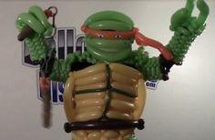 Ninja Turtle Balloon Costume