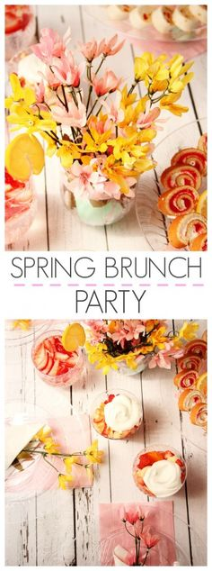 Spring Brunch Party with Chinet® Cut Crystal® Tableware & Giveaway