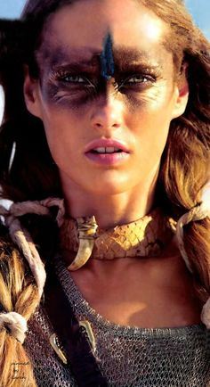 Tribal ~ PHOTOGRAPHER: HANS FEURER, MODEL: KARMEN PEDARU