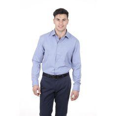 Light Blue 42 IT - 16½ US Armani Collezioni mens shirt TCCM5L TCC27 041