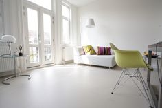 Gietvloer Sweet Home, New Homes, Flooring, Living Room, Inspireren, Amsterdam, Google, Interiors, Home