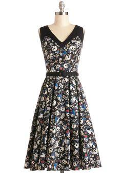Shake, Punk Rock, and Roll Dress | Mod Retro Vintage Dresses | ModCloth.com