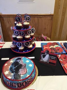 50th Bruce Springsteen party theme