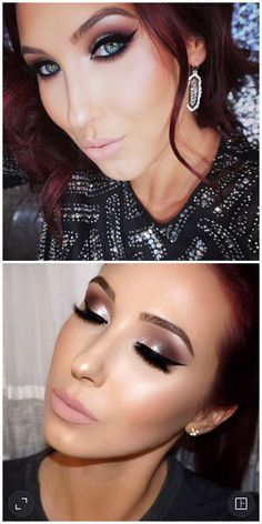 Classic Silver Neutral Smokey Eye | Makeup by Jaclyn Hill @jaclynhill1