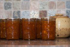 Peach Vanilla Jam- sounds yummy!
