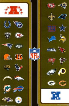 NFL Teams - National Football League  To see every NFL team play at least once!!!!!