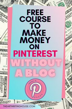How to do affiliate marketing on Pinterest, no blog needed! From Pinning to Target Visitors is a unique because it's not only a comprehensive affiliate marketing course for beginners, but you will learn how to drive engaging to people to your pins that CONVERT!! You will find the right affiliate products to promote and tips and tricks to increase your affiliate sales. This course is a must for beginners who wish to master Pinterest affiliate marketing #makemoneyonpinterest #money #onlinebusiness