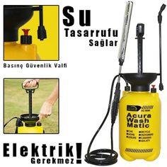 Elektriksiz Basınçlı Oto Yıkama ve Bahçe İlaçlama Makinesi (5 Litre) :: www.cazipfiyattan.com
