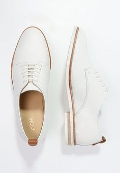 KIOMI Lace-ups - white for £49.99 (17/04/17) with free delivery at Zalando