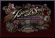 My Website Design « David Smith – Traditional Ornamental Glass Artist