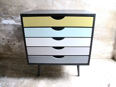 Love! could do this with my Ikea Alex drawers...