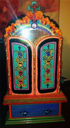 New Orleans Heritage Craft Shadow Box