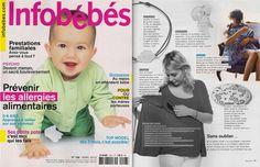 MUM ON THE GO - as seen on Infobébés Magazine