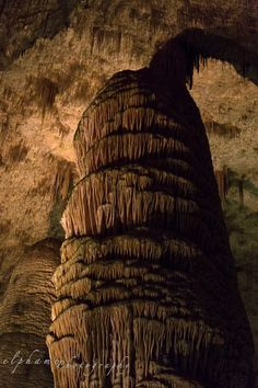 Rock of Ages in Carlsbad Caverns in New Mexico