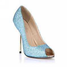 Glitter Peep High Thin Heels Women Stiletto Pumps MULTI COLORS Fashion D'Orsay DolphinGirl Shoes Prime ^^ To view further, visit now : Lace up sandals