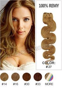 "14"" #27 Body Wave 100% Remy Human Hair [WRHBWA1427]"