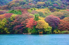 Ashi Lake-Japan