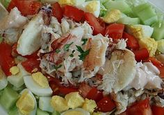 Dungeness Crab Louie. I like to add a little avocado to the mix. ♥ Wives with Knives