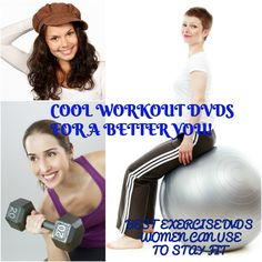 Get her the best home wokout DVDs women love so she can #stayfit from the comforts of her home