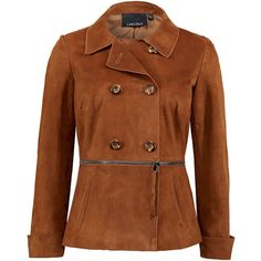 Carlisle Collection : Fall : Product COGNAC ❤ liked on Polyvore featuring outerwear, jackets, cognac, cognac jacket, suede, suede jacket, suede leather jacket, brown suede jacket and brown jacket