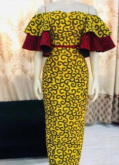 african fashion ankara All items are made from very high quality cotton african print and this item is not an exception. Ankara Maxi Dress, African Maxi Dresses, Latest African Fashion Dresses, African Inspired Fashion, African Dresses For Women, African Wear, Nigerian Fashion, African Clothes, Ankara Fashion