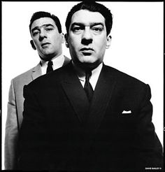 The Krays by David Bailey Swinging London, Catherine Deneuve, Black And White Portraits, Black And White Photography, John Cole, Vogue, David Bailey Photographer, Rockabilly, The Krays