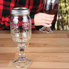 Red Neck Wine Glass!