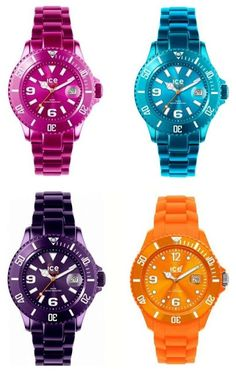 I Want It All: An ice watch!!