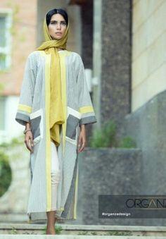 Iran outerwear Abaya Fashion, Muslim Fashion, Women's Fashion, Western Suits, Persian Girls, Look Short, Iranian Women Fashion, Vintage Couture, Mode Style