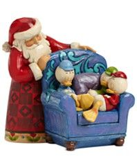 Jim Shore Santa with Huey, Dewey, and Louie Collectible Disney Figurine